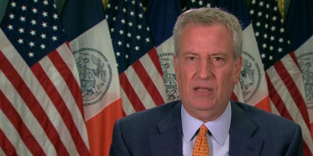 De Blasio: Don't bet against New York City