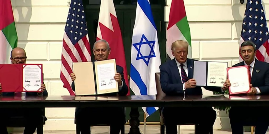 Israel signs historic diplomatic deal with UAE and Bahrain at White House