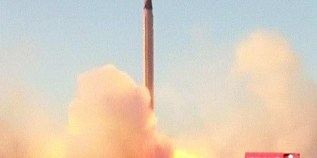Iran Tests Ballistic Missile