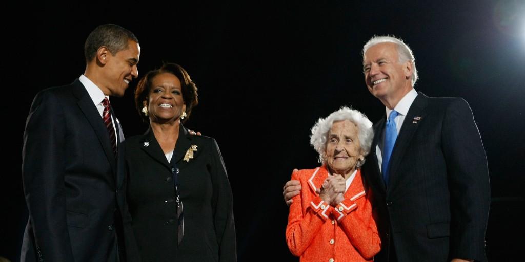 Vice President Biden S Mother Dies At 92