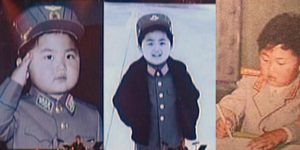 Kim Jong Un kecil
