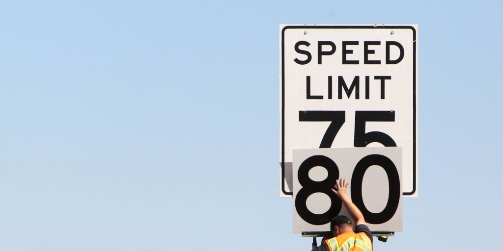 Which States Have The Highest Speed Limits