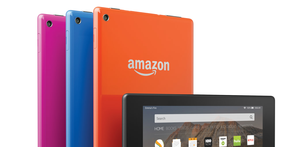 Amazon Launches New Fire TV, Four New Tablets