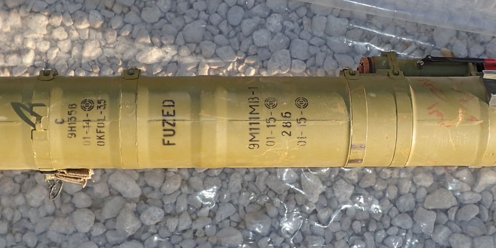 The U.S. bought this anti-tank weapon. Within 59 days, ISIS had it