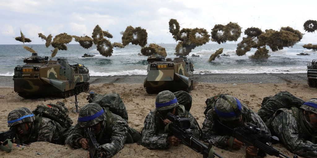 U S , South Korea plan massive joint military exercise to start end