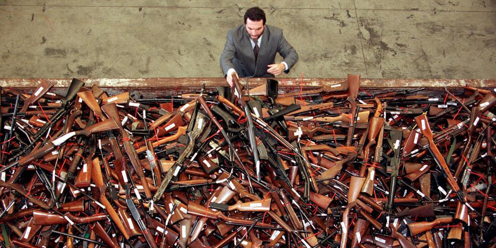 Australia's mandatory gun buyback inspires activists, but few lawmakers
