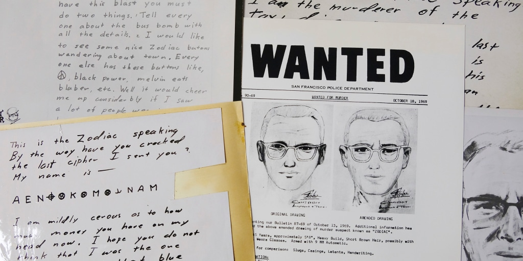 After arrest in Golden State Killer case, Zodiac Killer case