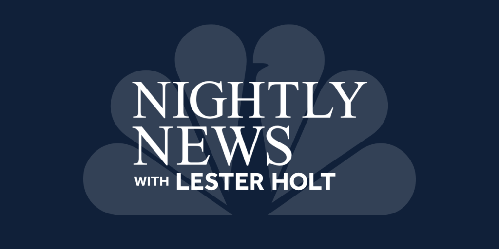 Nightly News with Lester Holt: The Latest News Stories Every