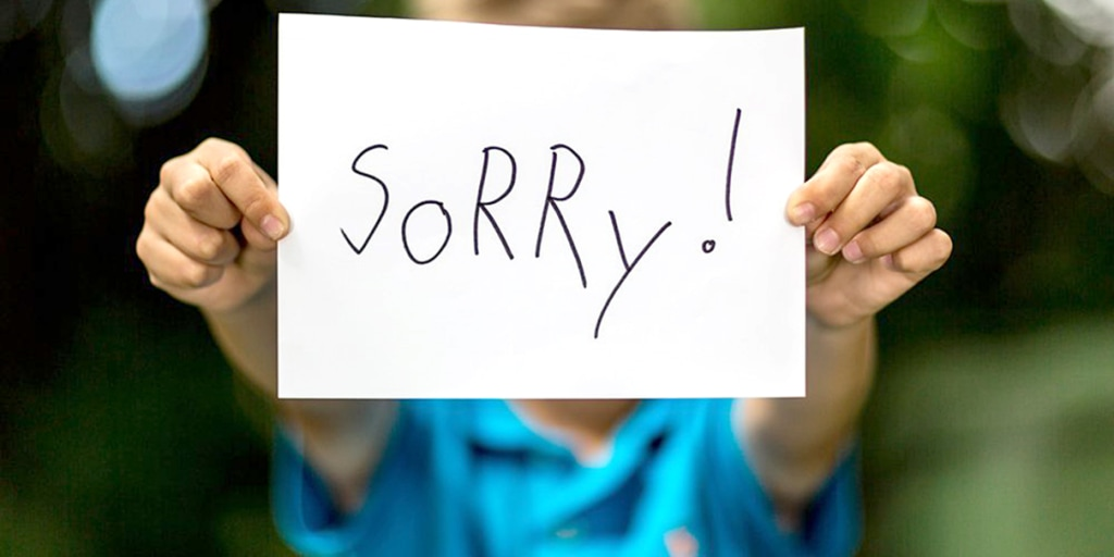 Saying the wrong sorry things for 15 Signs