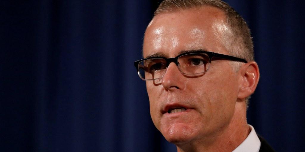 Ex-FBI official McCabe responds to 'lying' Trump attacks, calls them 'horrific'
