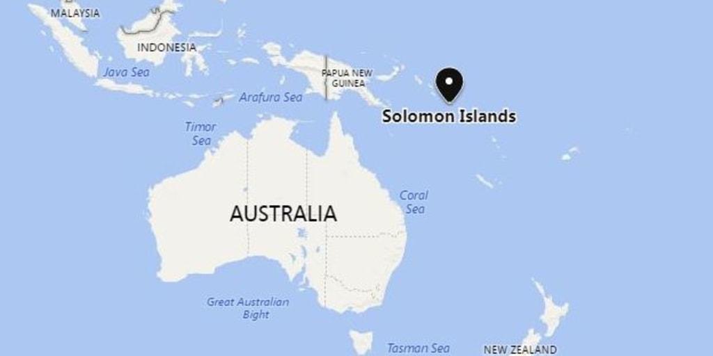 Ship leaks tons of oil near Solomon Islands in Pacific Ocean