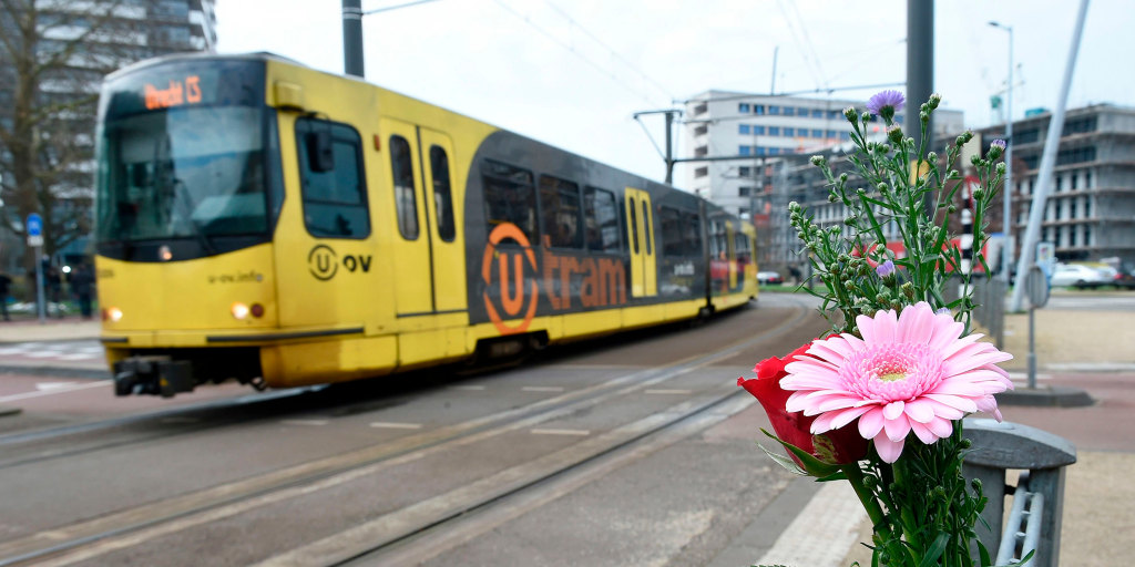 Suspect has no direct links to victims of Netherlands tram attack, police say