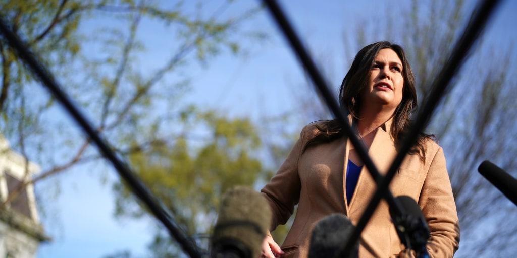 Opinion | The shameful final legacy of Sarah Sanders