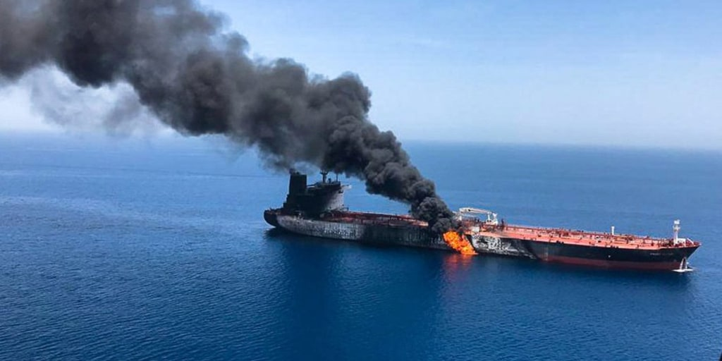 Japanese tanker owner contradicts U.S. officials in Gulf of Oman attack