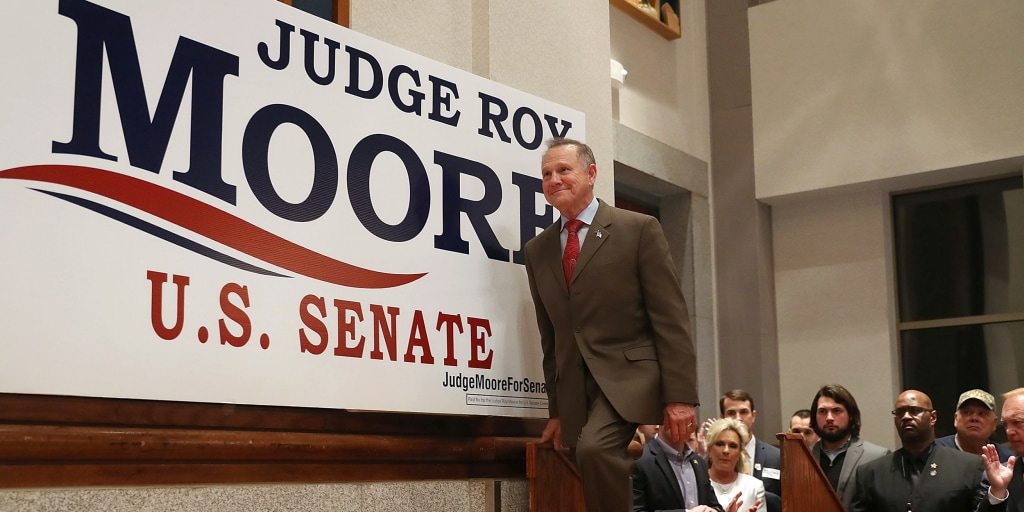 Roy Moore launches second run for Alabama Senate seat