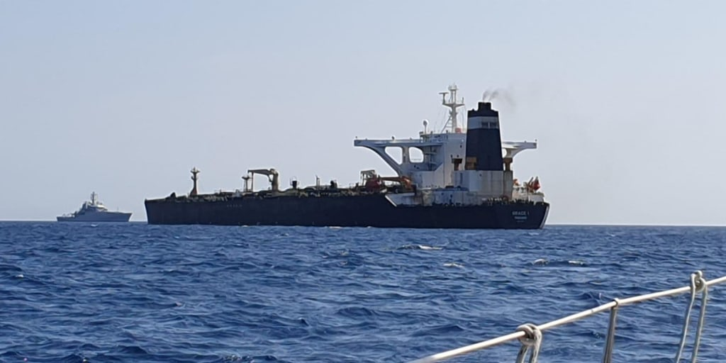 U.S. government applies to take control of Iranian tanker seized in Gibraltar