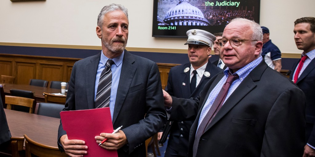 'An abomination': Jon Stewart blasts Rand Paul for blocking 9/11 victims bill