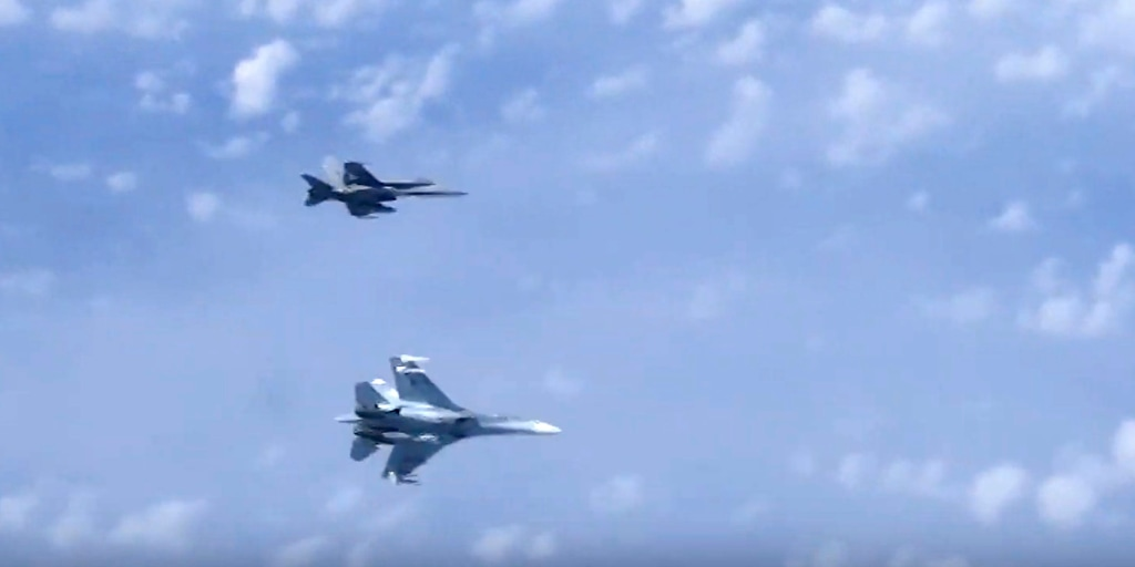 Russia says it 'chased away' NATO fighter jet near defense minister's plane