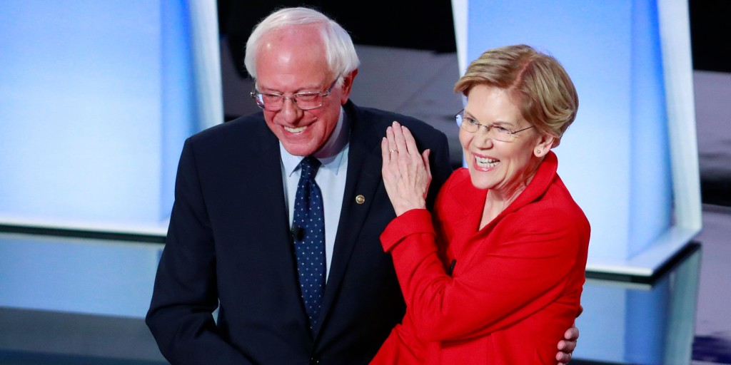 Why Sanders' and Warren's 2020 agenda is cheaper than we think