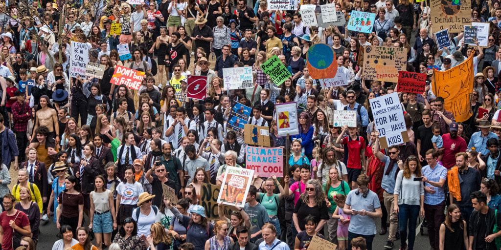 Global climate strike protests expected to draw millions