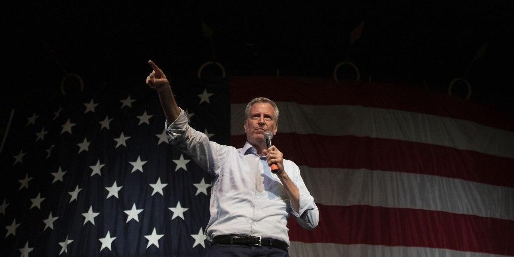 New York City Mayor Bill de Blasio drops 2020 bid