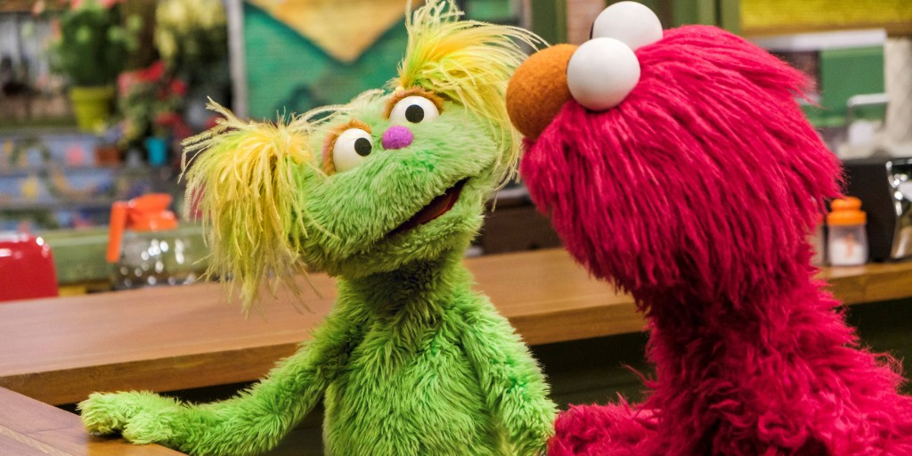Yellow-haired Muppet Karli helps 'Sesame Street' tackle opioid addiction
