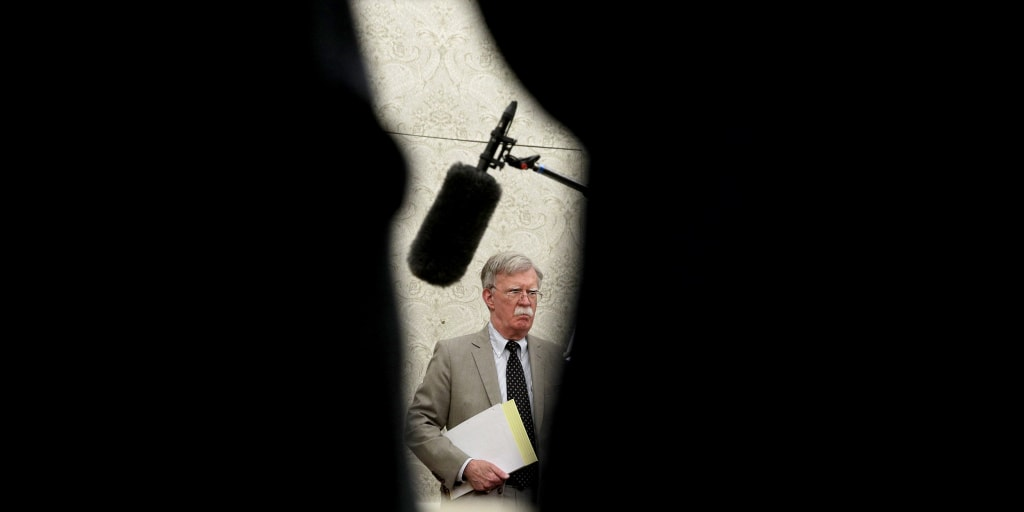 In private speech, Bolton suggested some of Trump's policy decisions are guided by personal interest