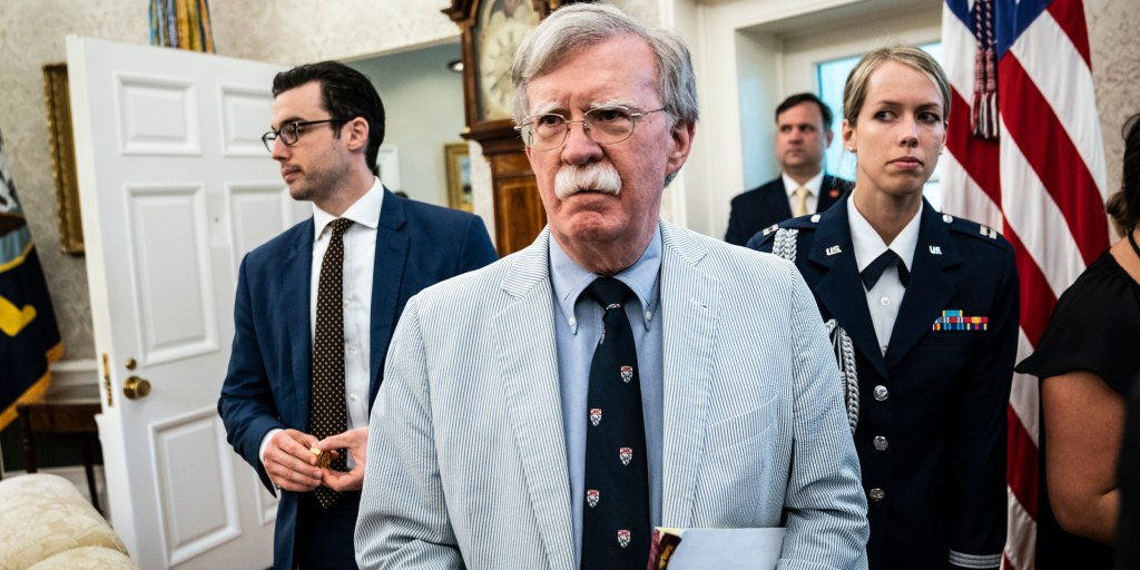 Top Democrat reveals private call with Bolton that bolster his claims against Trump