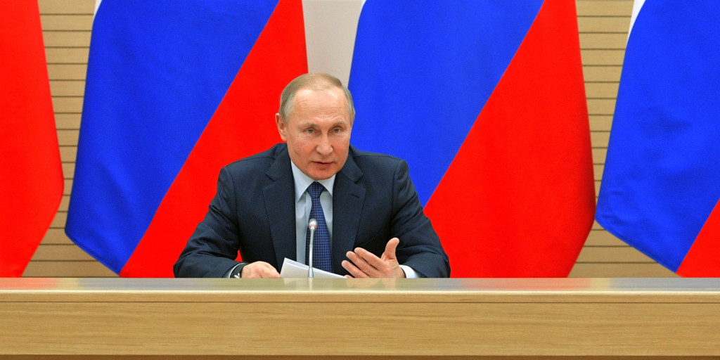 'There will be dad and mum': Putin rules out Russia legalizing gay marriage