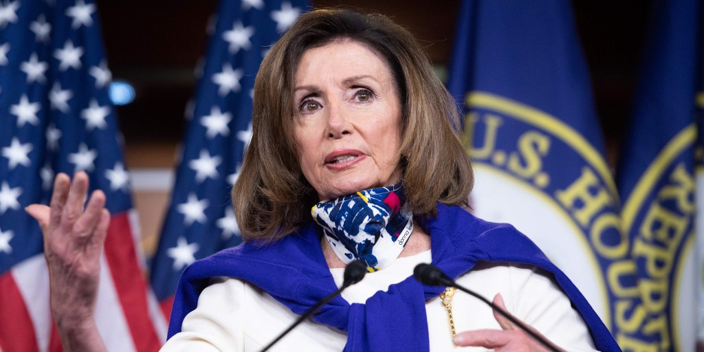 If Trump's looking for a 'hoax,' the mirror is a good place to start, Pelosi suggests