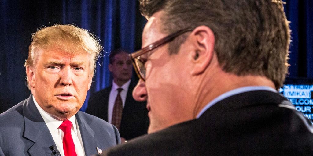 Twitter says it wont remove Trump's tweets about MSNBC host Joe Scarborough