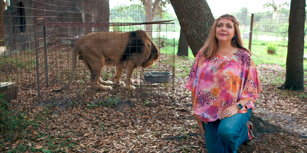 Carole Baskin awarded 'Tiger King' Joe Exotic's former zoo