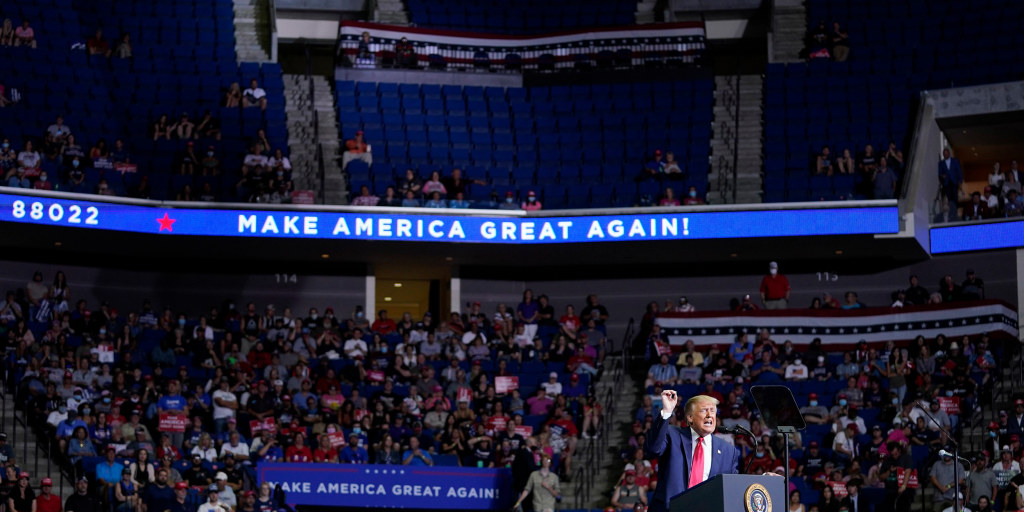 Local official: Trump rally likely intensified public-health crisis