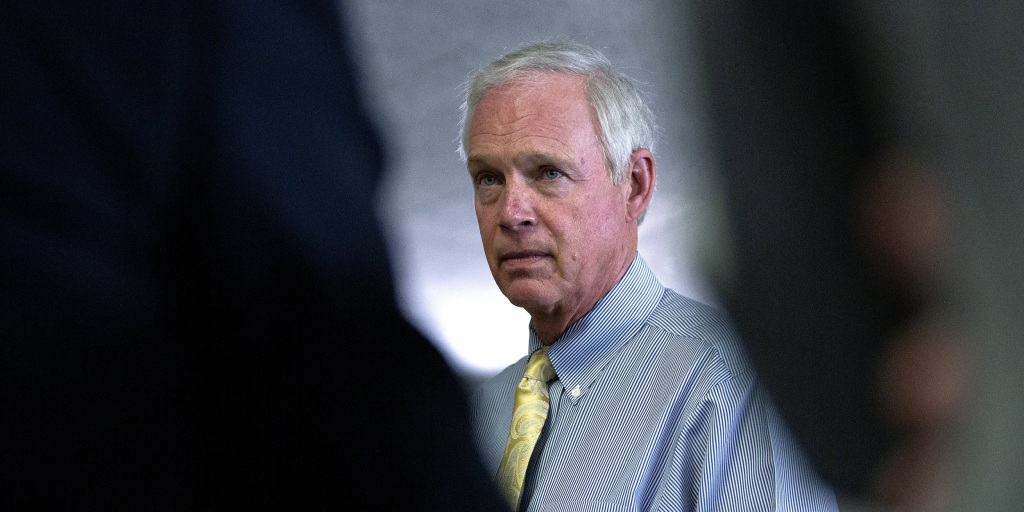 Image of article 'GOP Sen. Ron Johnson is first target of new Democratic congressional 'integrity' group'