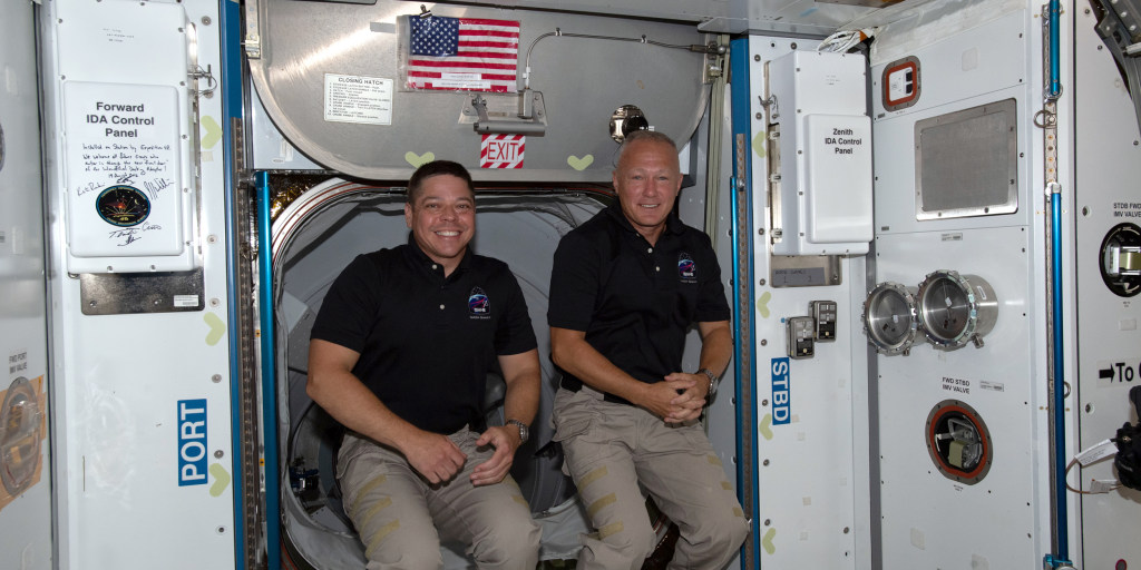 NASA astronauts' scheduled return to Earth aboard SpaceX capsule uncertain due to weather