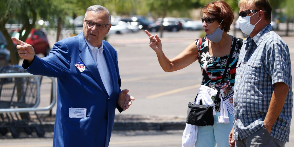 Joe Arpaio loses sheriff's race in second failed comeback bid