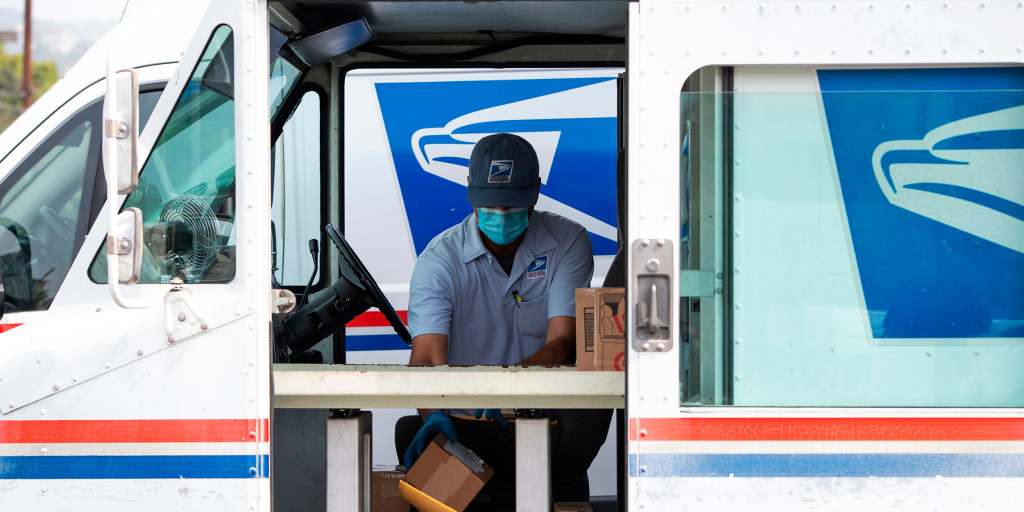 Postal workers union endorses Biden, warns 'survival' of USPS at stake