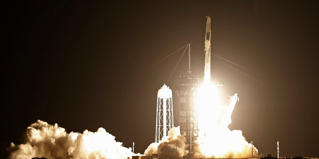 NASA, SpaceX launch astronauts on reused rocket to International Space  Station