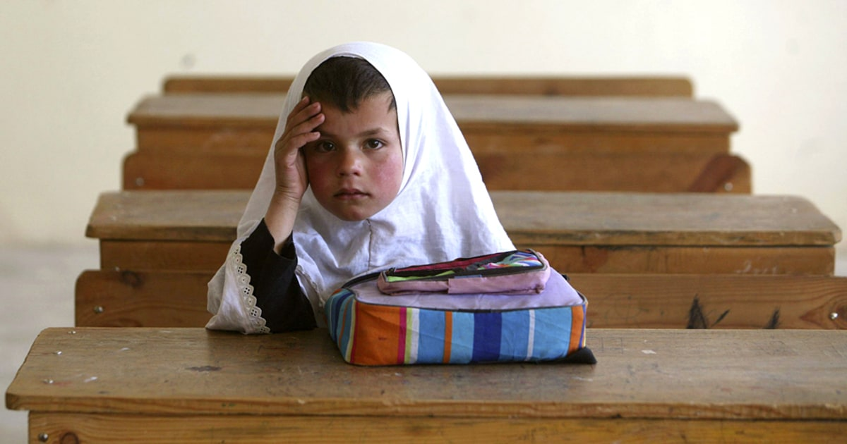 ANOTHER Taliban poison gas attack on Afghan girls school