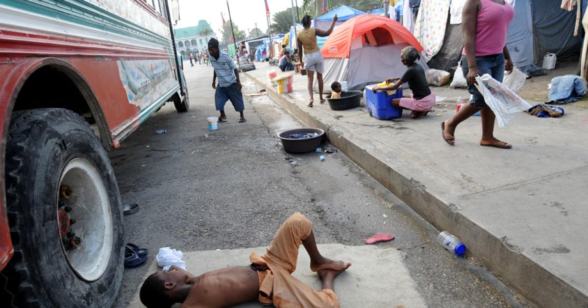 Heavy rain hits Haitis ravaged capital - World news