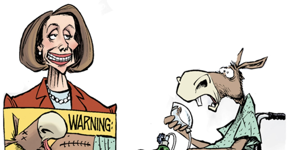 Image result for cartoons of nancy pelosi