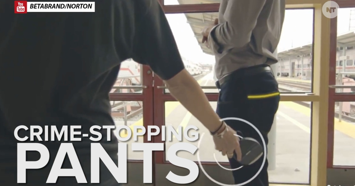 How a Pair of Pants Can Protect You From Theft