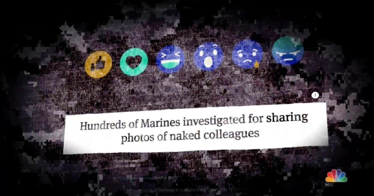 Hundreds Of Marines Investigated For Sharing Photos Of