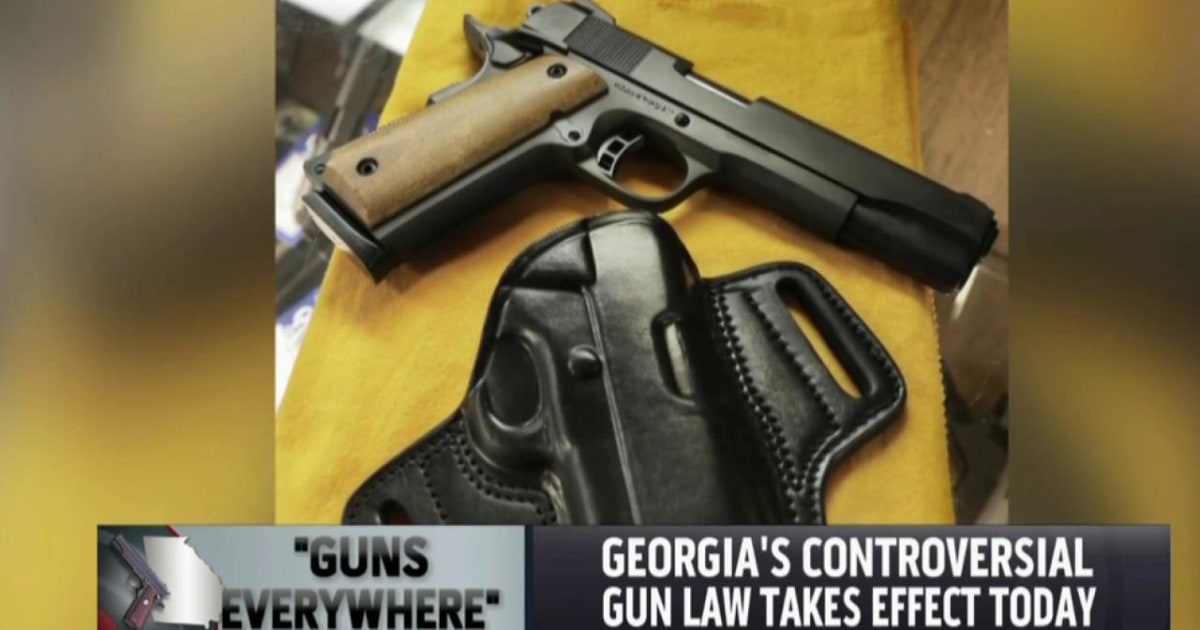 what is the new gun law in georgia