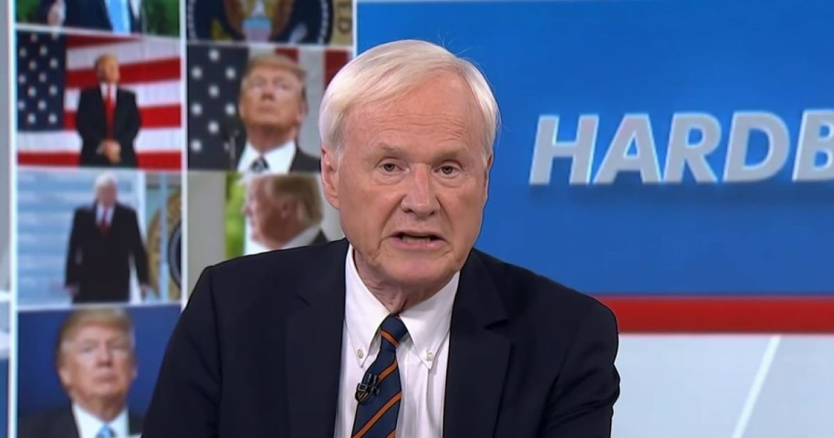 Matthews: Trump is following the historic route of Nixon