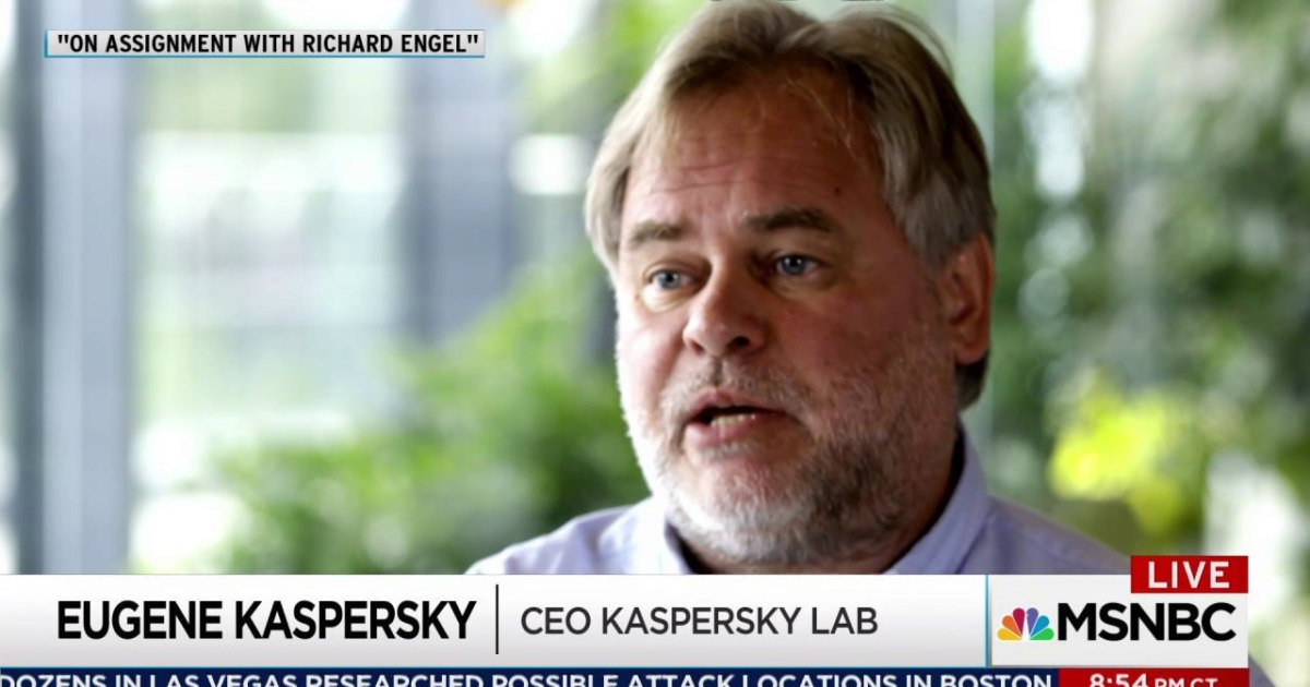 Russian Kaspersky anti-virus software eyed in serious NSA breach