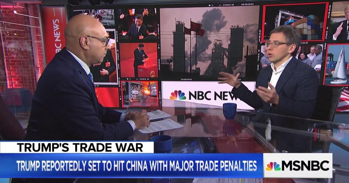report trump to impose new tariffs on china
