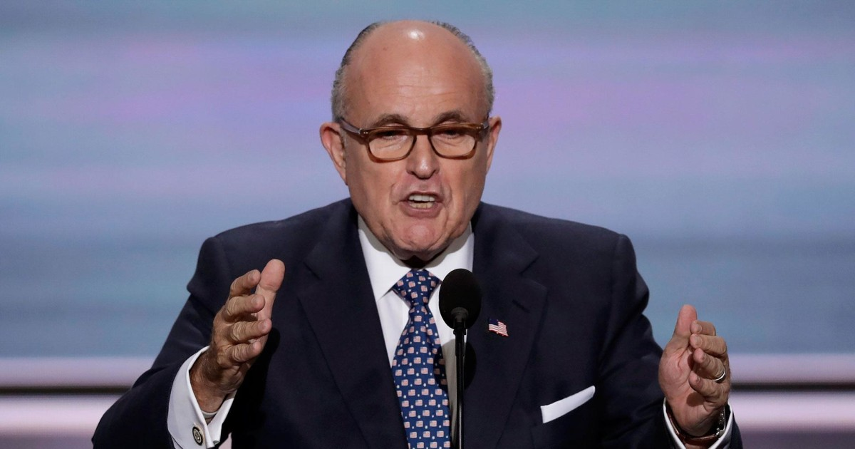 Rudy Giuliani, two more lawyers join Trump legal team