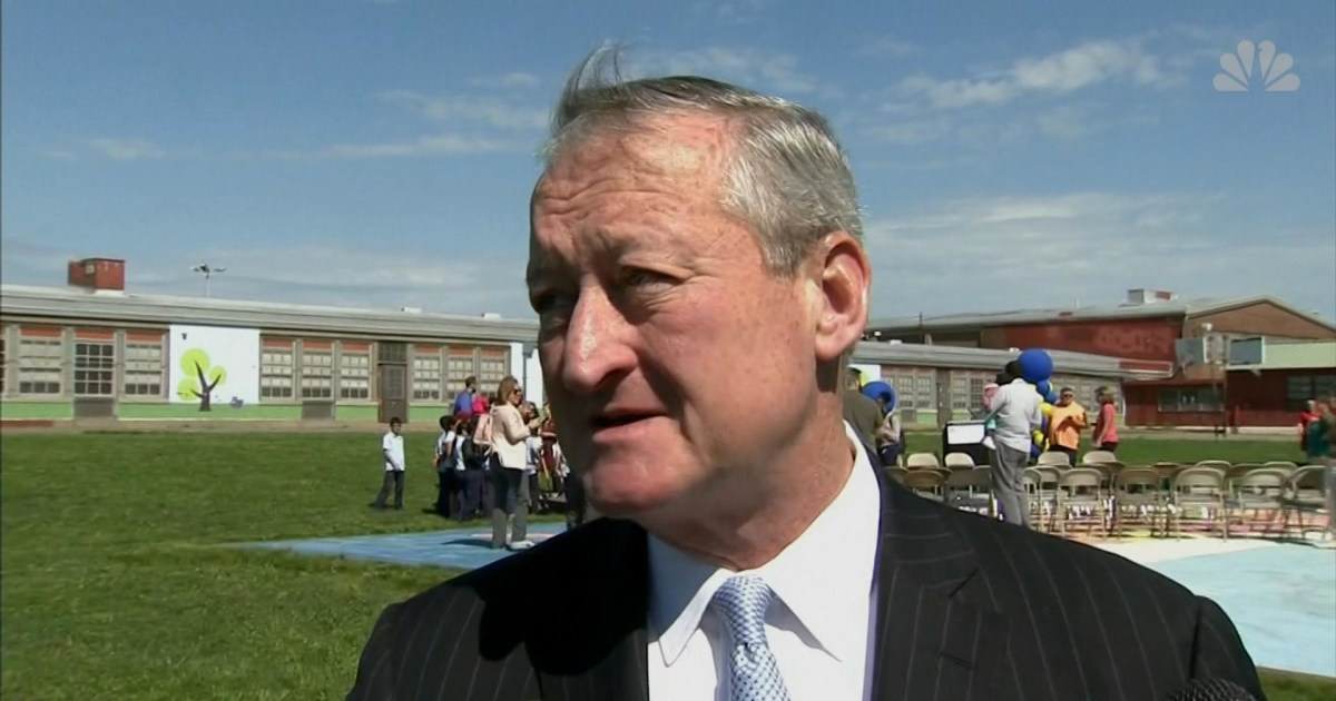 Philadelphia Mayor Discusses President Trump Canceling Eagles Visit
