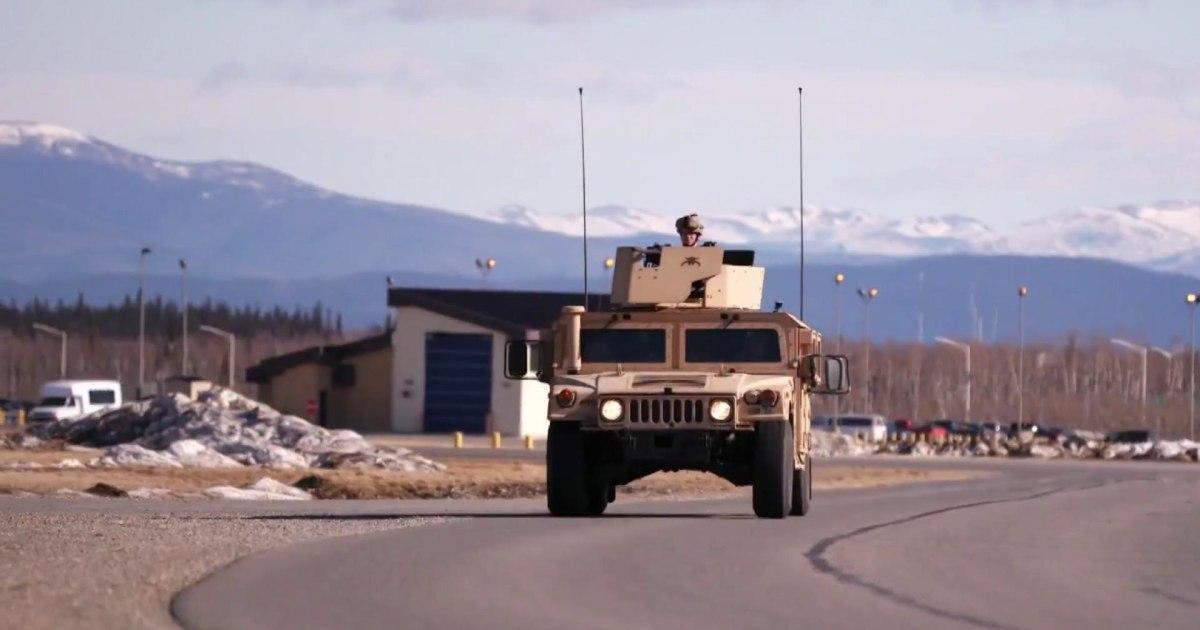 Remote U.S. base on hi...